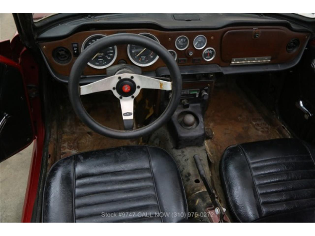 Large Picture of Classic 1973 Triumph TR6 - QI3K