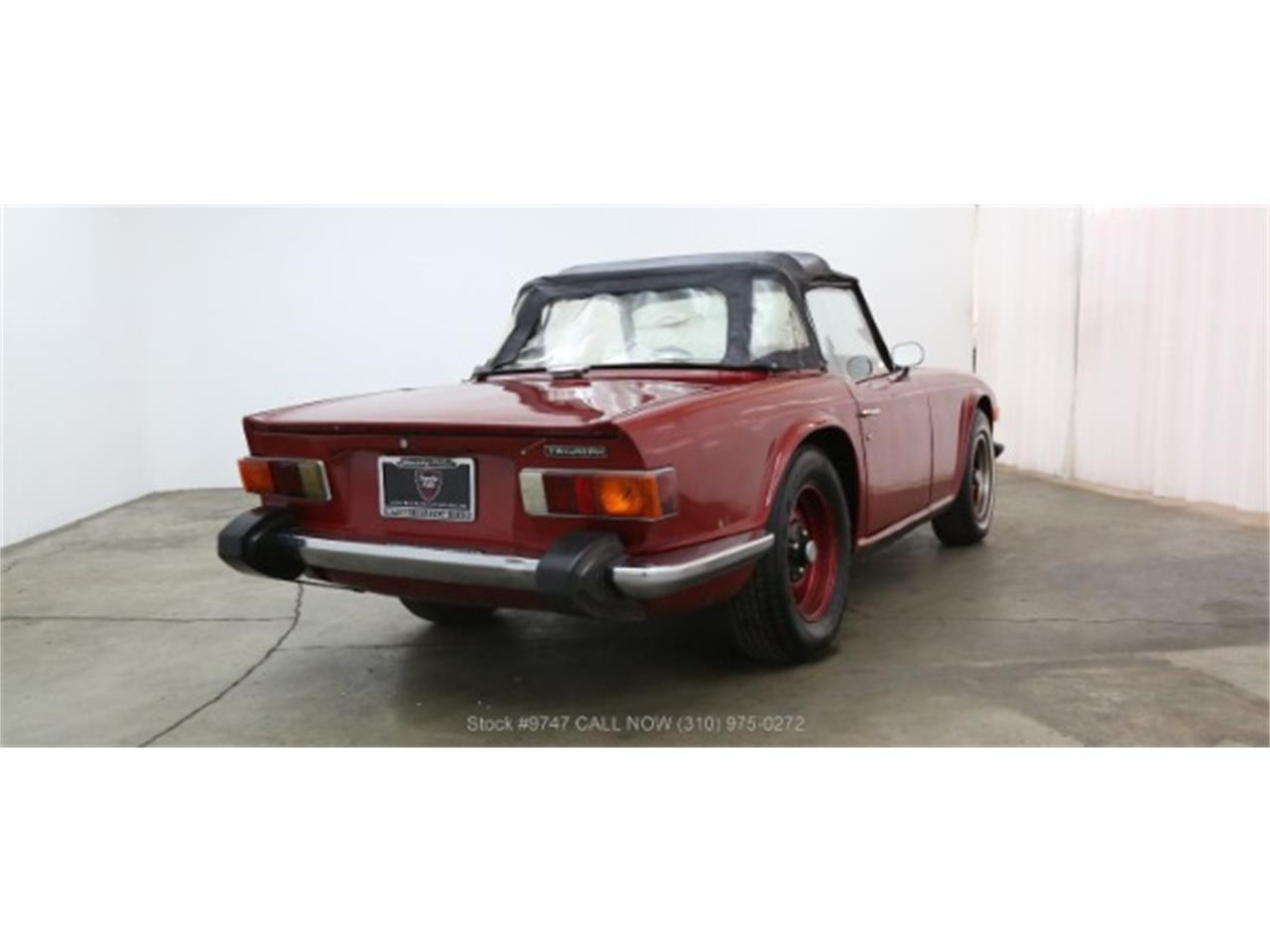 Large Picture of 1973 TR6 - QI3K