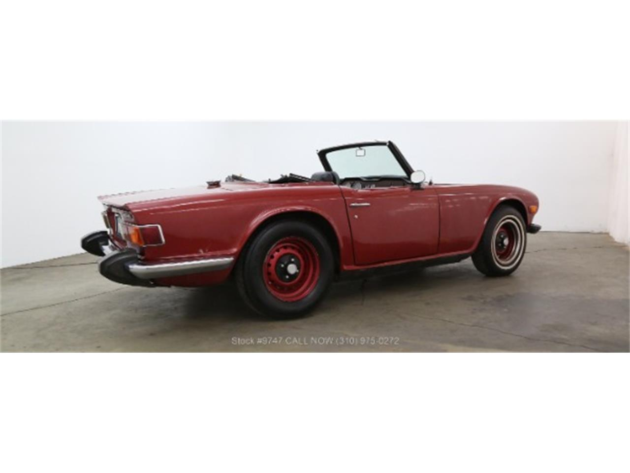 Large Picture of Classic 1973 TR6 located in California - QI3K