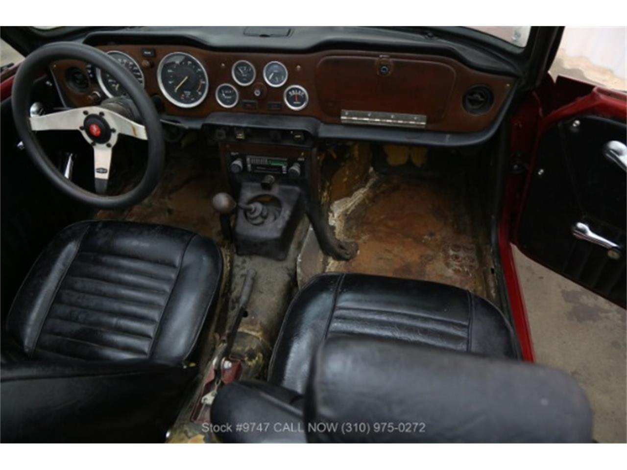 Large Picture of '73 TR6 - QI3K