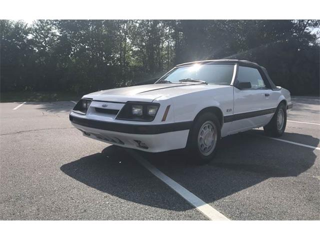 Picture of 1986 Ford Mustang located in Massachusetts Auction Vehicle Offered by  - QI73