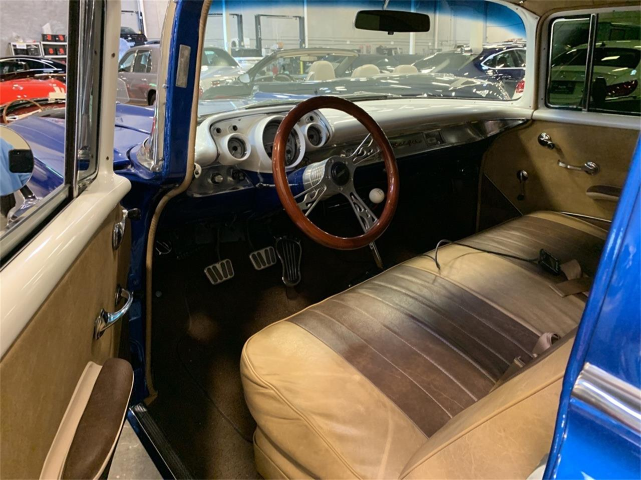 Large Picture of Classic 1957 Bel Air located in Carrollton Texas - $139,990.00 Offered by Earth Motorcars - QI87