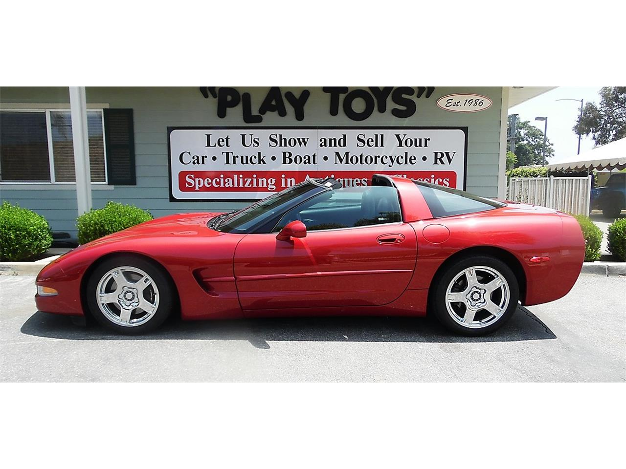 Large Picture of 1997 Chevrolet Corvette located in Redlands California Offered by Play Toys Classic Cars - QDLE
