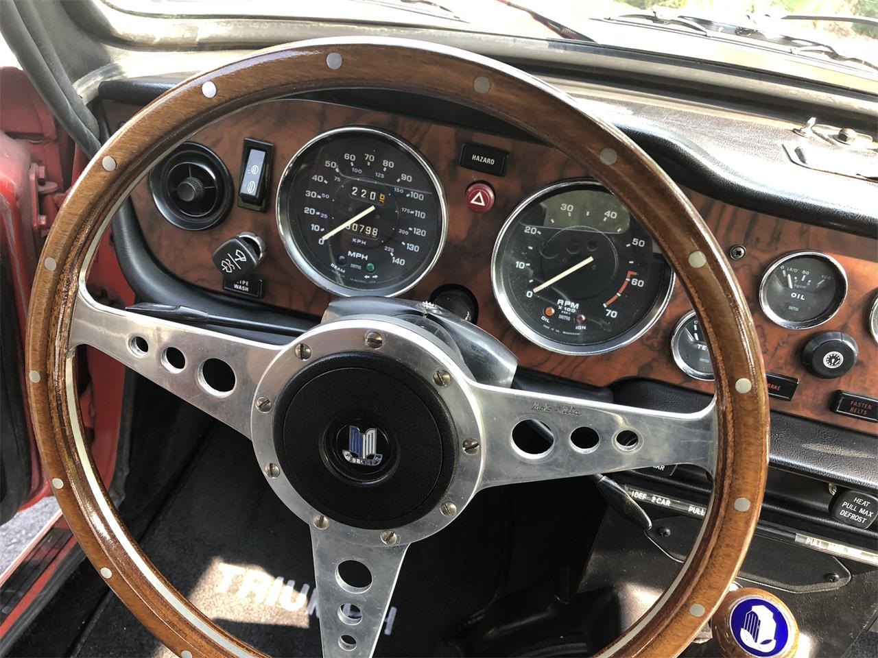 Large Picture of '74 TR6 - QDLF