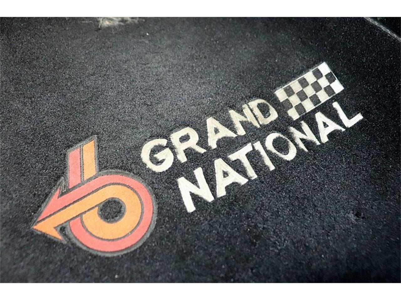 Large Picture of '87 Grand National - QICZ