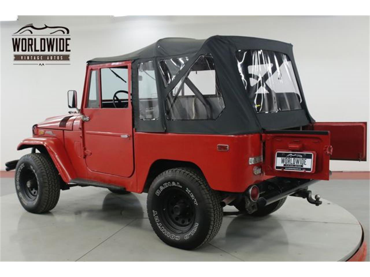 Large Picture of '71 Land Cruiser FJ40 - QIDE