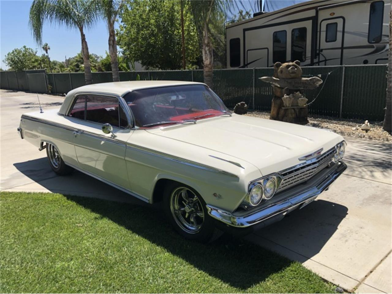 Large Picture of '62 Chevrolet Impala SS located in Sparks Nevada Auction Vehicle Offered by Motorsport Auction Group 797664 - QIEP