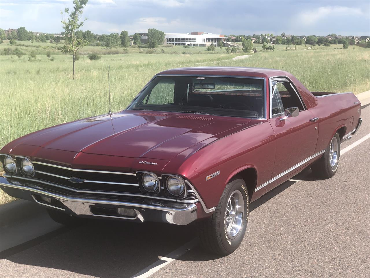 Large Picture of '69 El Camino - QDM4