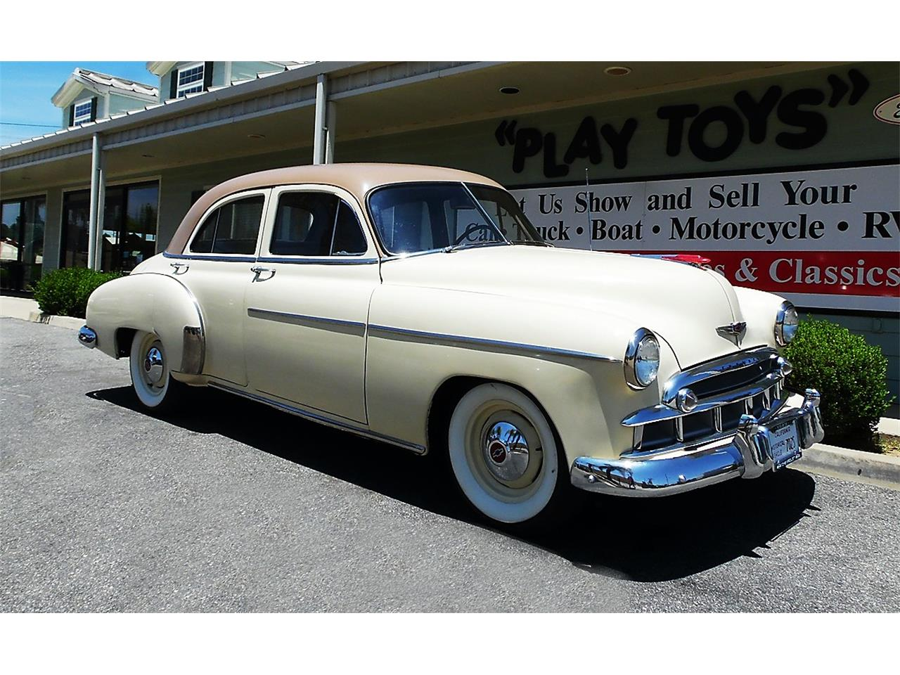 Large Picture of '49 Chevrolet Styleline located in Redlands California - $15,995.00 Offered by Play Toys Classic Cars - QIJT