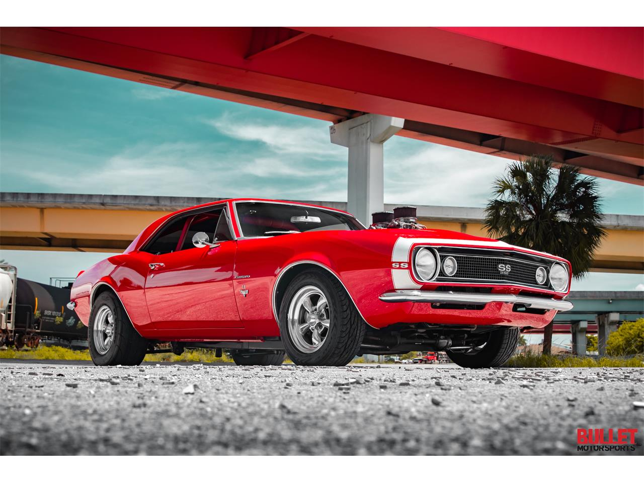 Large Picture of '67 Chevrolet Camaro located in Florida Offered by Bullet Motorsports Inc - QIJZ