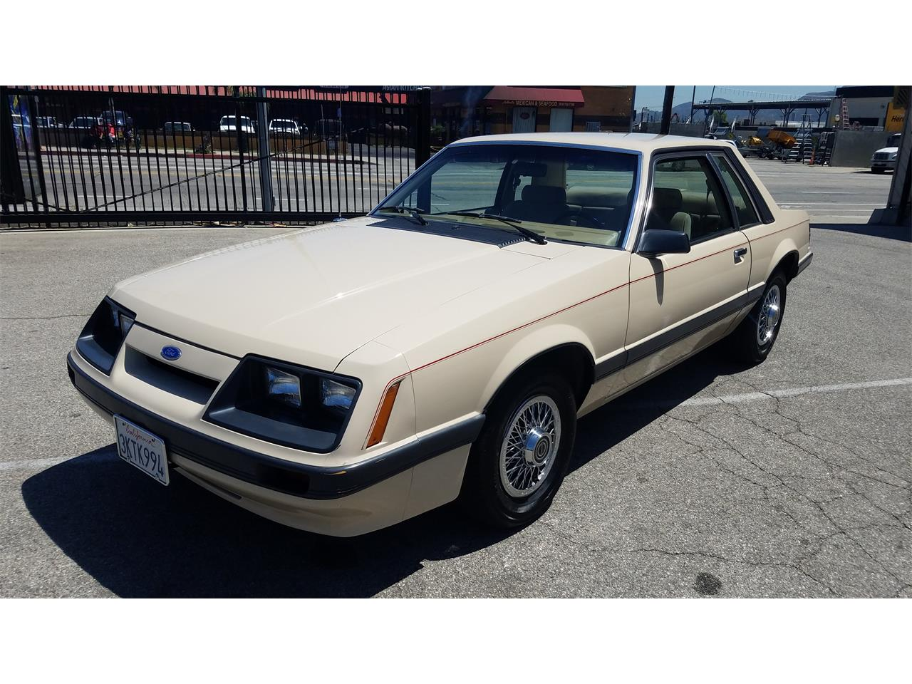Large Picture of '86 Mustang - QDMG