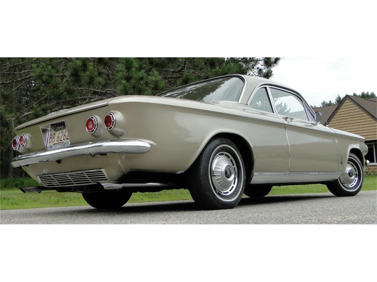 Large Picture of 1962 Chevrolet Corvair Monza located in Minnesota Offered by Big R's Muscle Cars - QIKQ