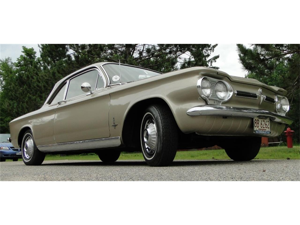 Large Picture of Classic 1962 Chevrolet Corvair Monza located in Grand Rapids Minnesota Offered by Big R's Muscle Cars - QIKQ
