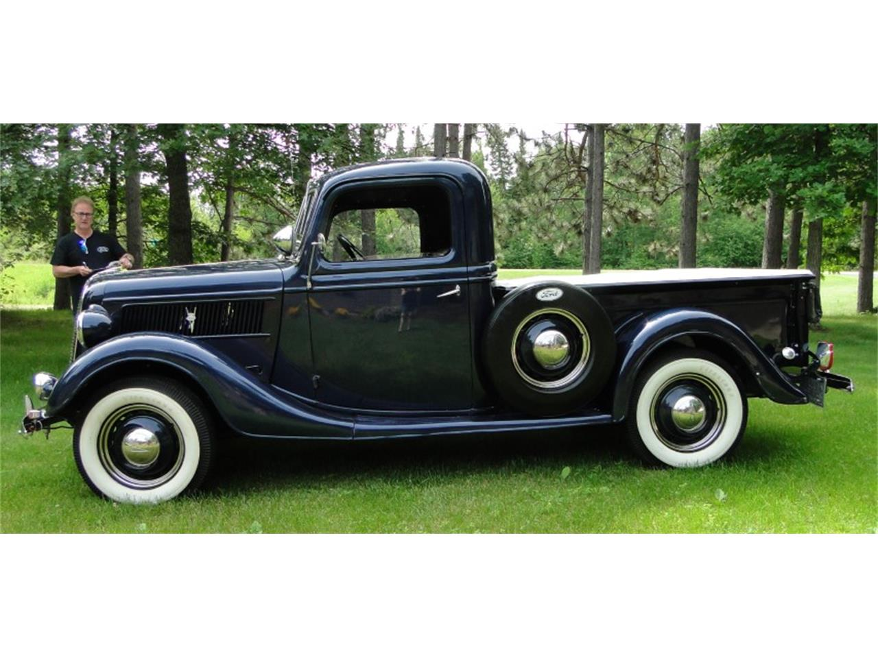 Large Picture of Classic 1937 Pickup located in Grand Rapids Minnesota - QIKS