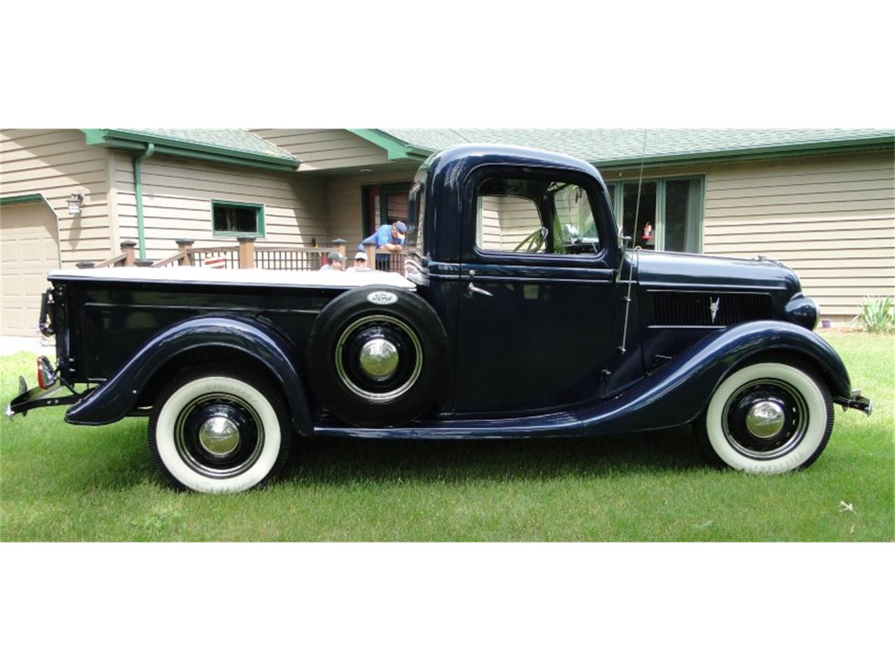 Large Picture of 1937 Pickup located in Grand Rapids Minnesota - $35,900.00 Offered by Big R's Muscle Cars - QIKS
