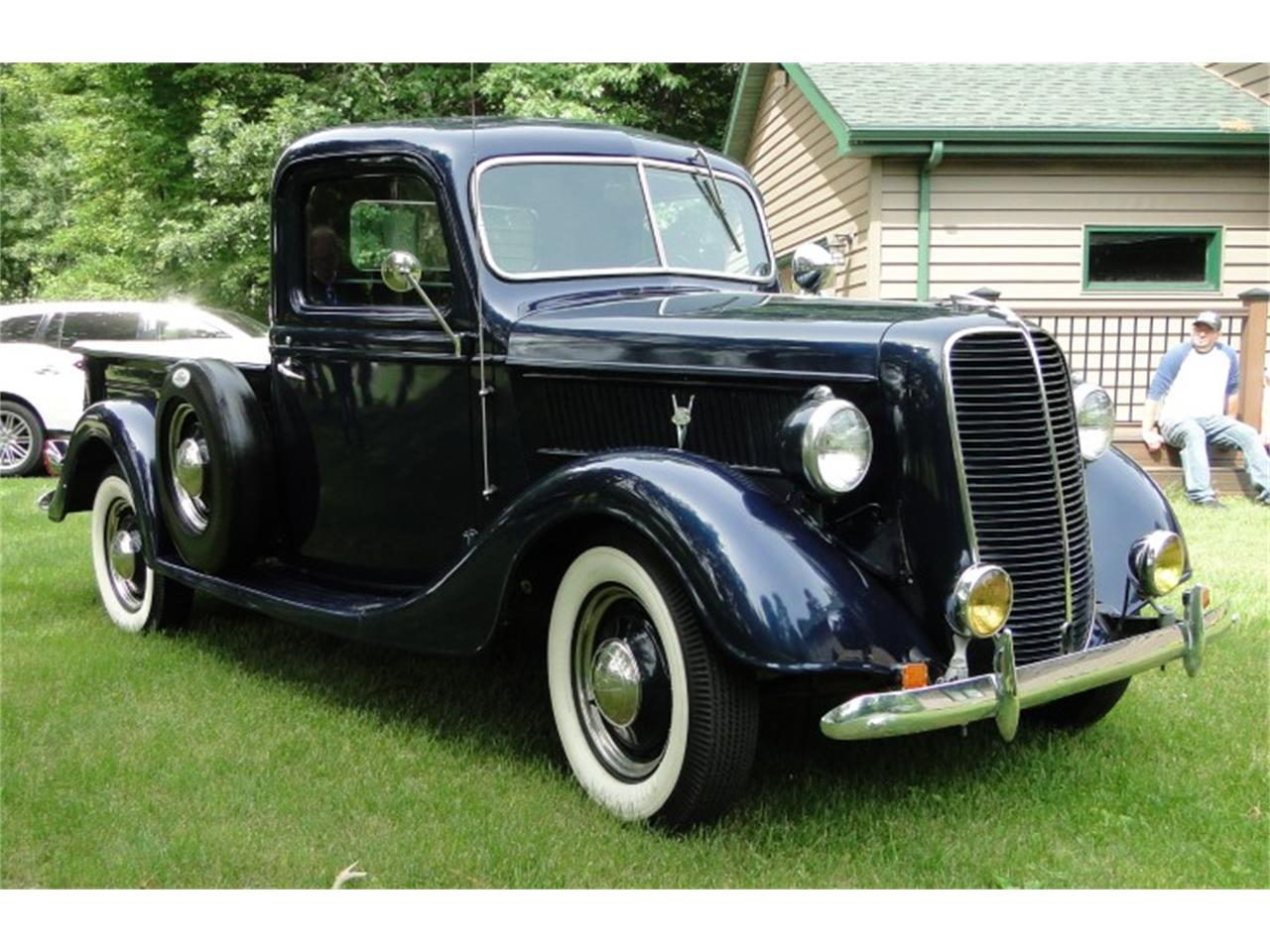 Large Picture of '37 Ford Pickup Offered by Big R's Muscle Cars - QIKS