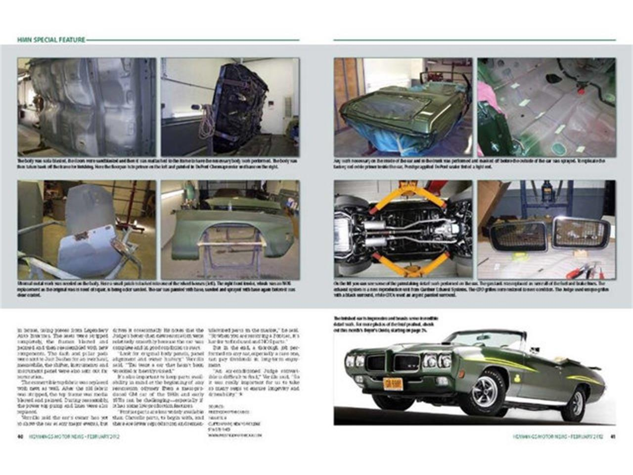 Large Picture of 1970 Pontiac GTO (The Judge) located in New York - $219,000.00 - QDN8