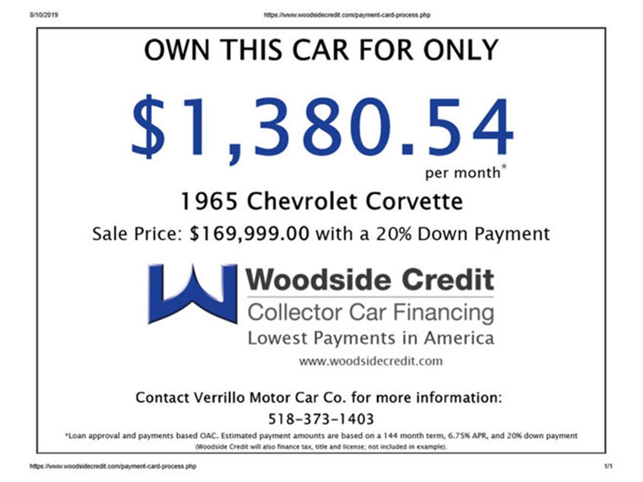 Large Picture of '65 Corvette - QDNB