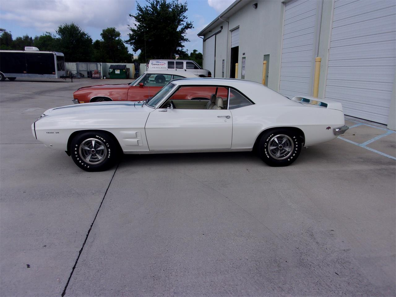 Large Picture of 1969 Firebird Trans Am located in Stuart Florida Offered by Pirate Motorcars of Treasure Coast LLC - QIU7