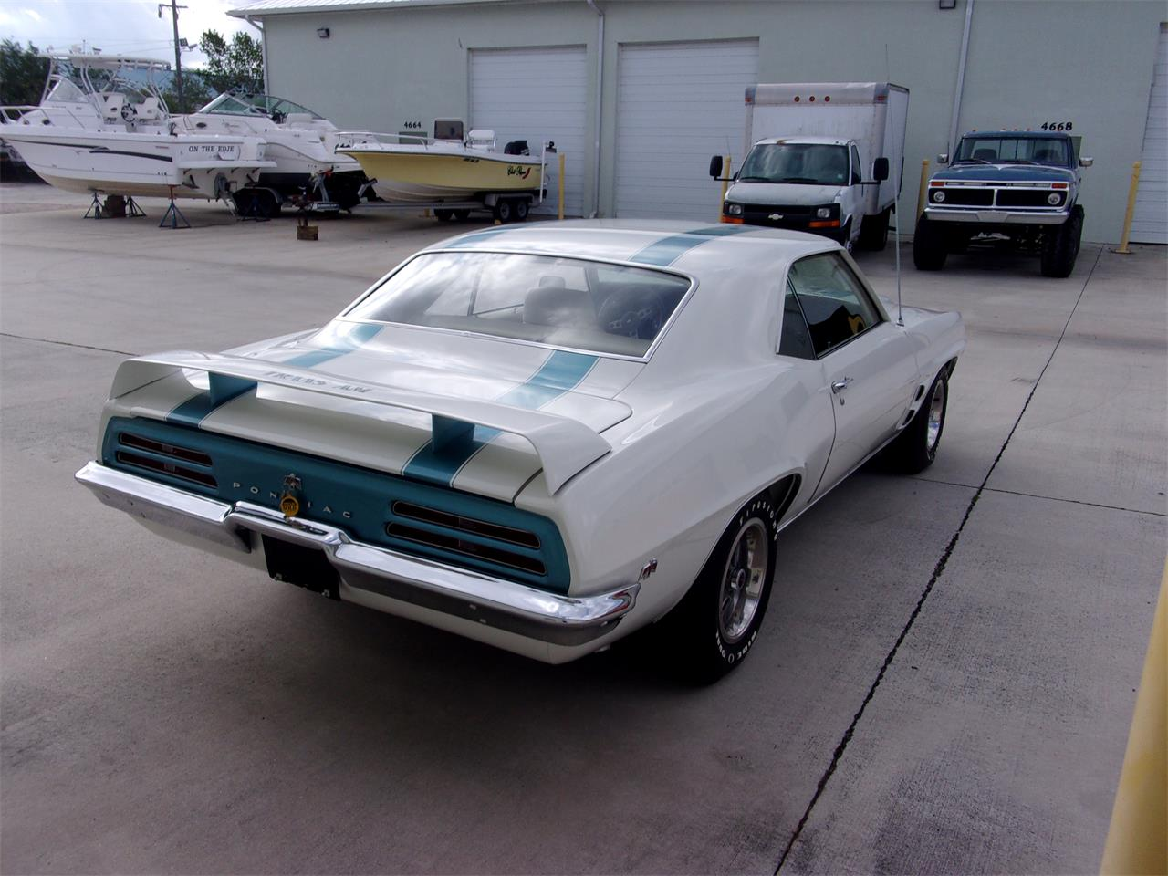 Large Picture of Classic '69 Pontiac Firebird Trans Am located in Stuart Florida Offered by Pirate Motorcars of Treasure Coast LLC - QIU7