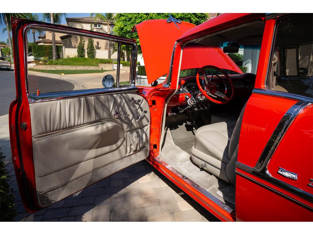 Large Picture of 1955 Bel Air located in ANAHEIM California - $47,500.00 Offered by a Private Seller - QIUE
