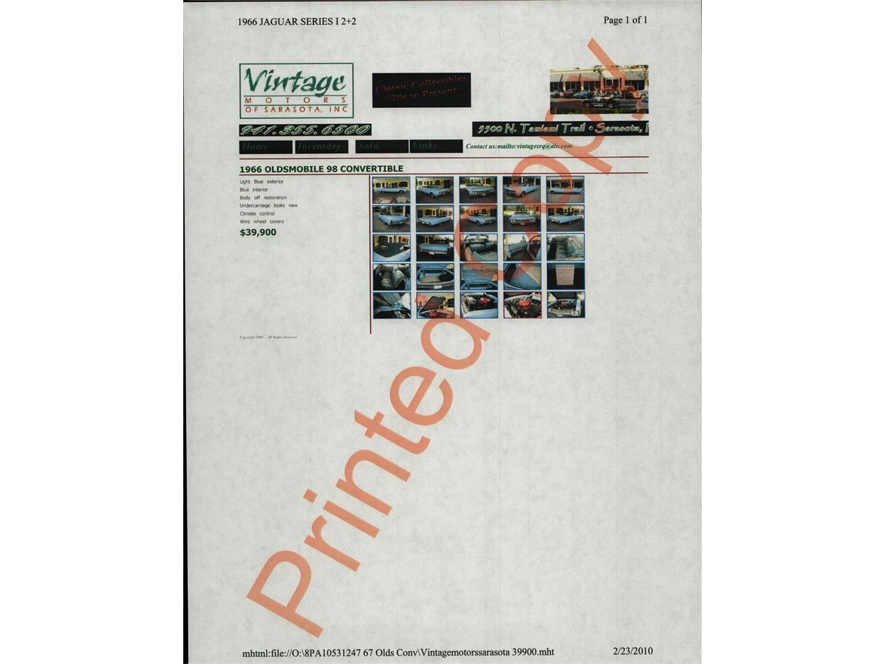 Large Picture of Classic '67 98 - $28,500.00 - QIZI