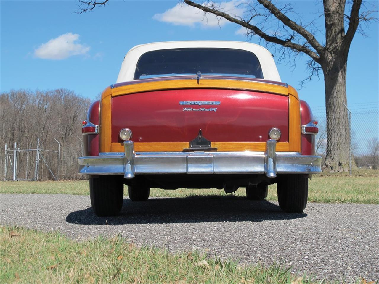 Large Picture of Classic 1949 Chrysler Town & Country Auction Vehicle Offered by RM Sotheby's - QJ2E