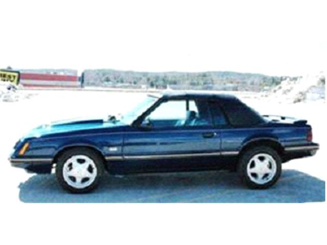 1984 to 1986 Ford Mustang for Sale on ClassicCars com on ClassicCars com