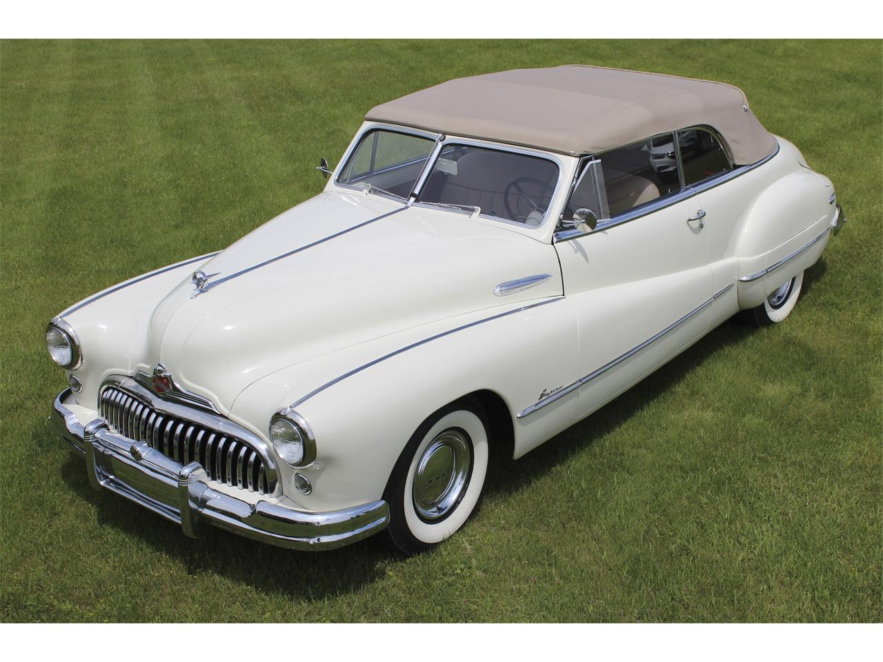 Large Picture of Classic 1948 Convertible located in Alpena Michigan - QJJ6