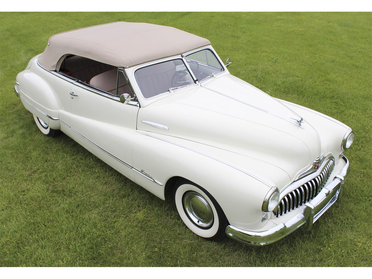Large Picture of '48 Buick Convertible located in Michigan - $55,000.00 - QJJ6