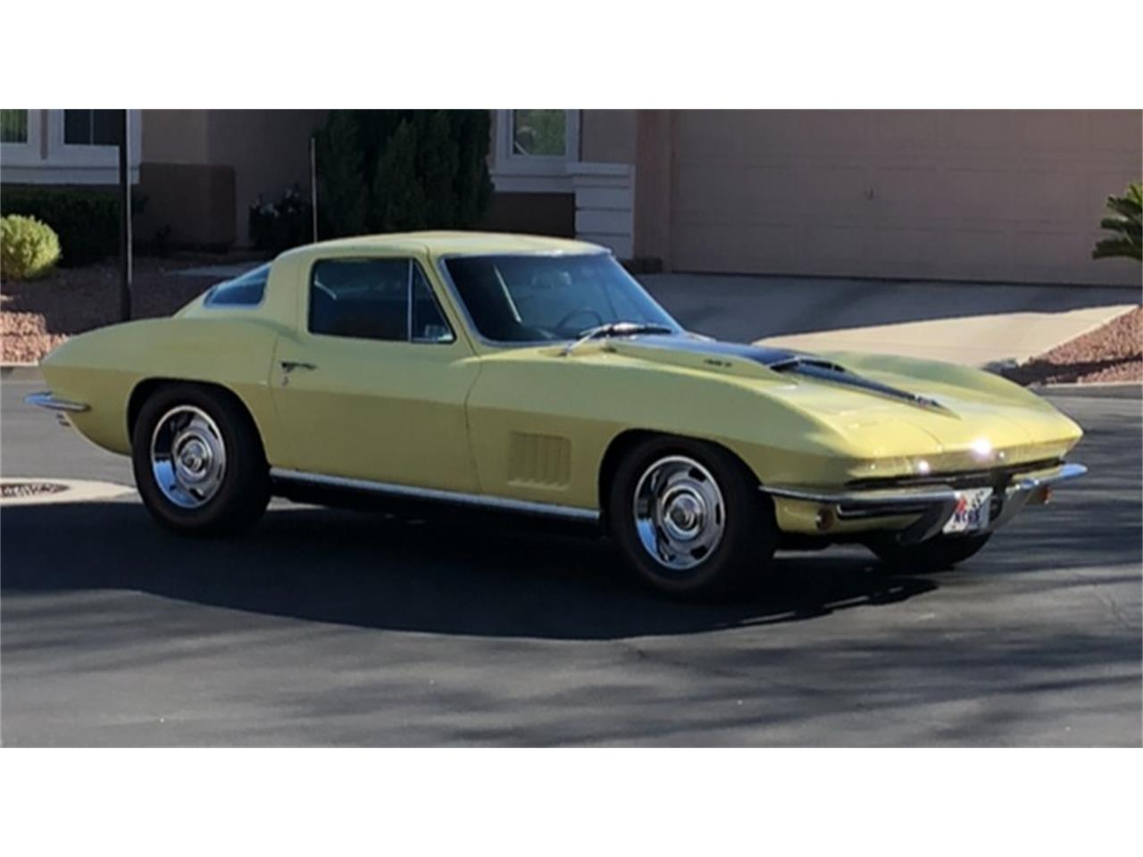 Large Picture of '67 Chevrolet Corvette located in Nevada Auction Vehicle Offered by Motorsport Auction Group - QJMB