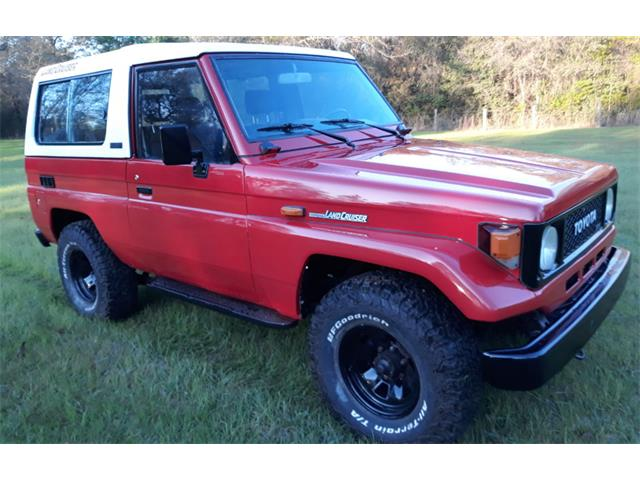 Picture of 1992 Toyota Land Cruiser FJ Auction Vehicle - QJMM