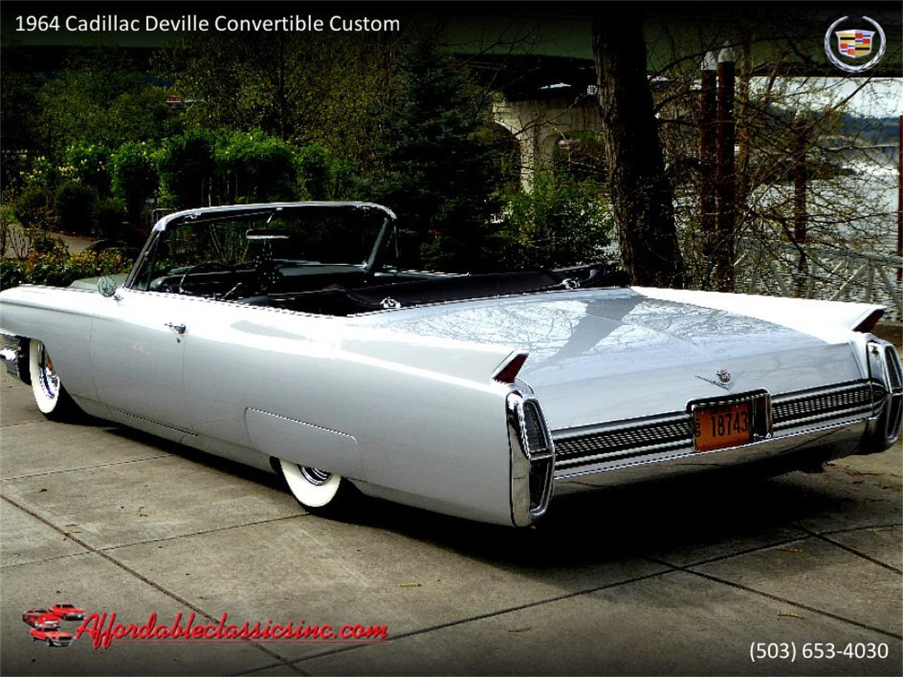 Large Picture of Classic 1964 Cadillac DeVille - $54,500.00 Offered by Affordable Classics Inc - QJO1
