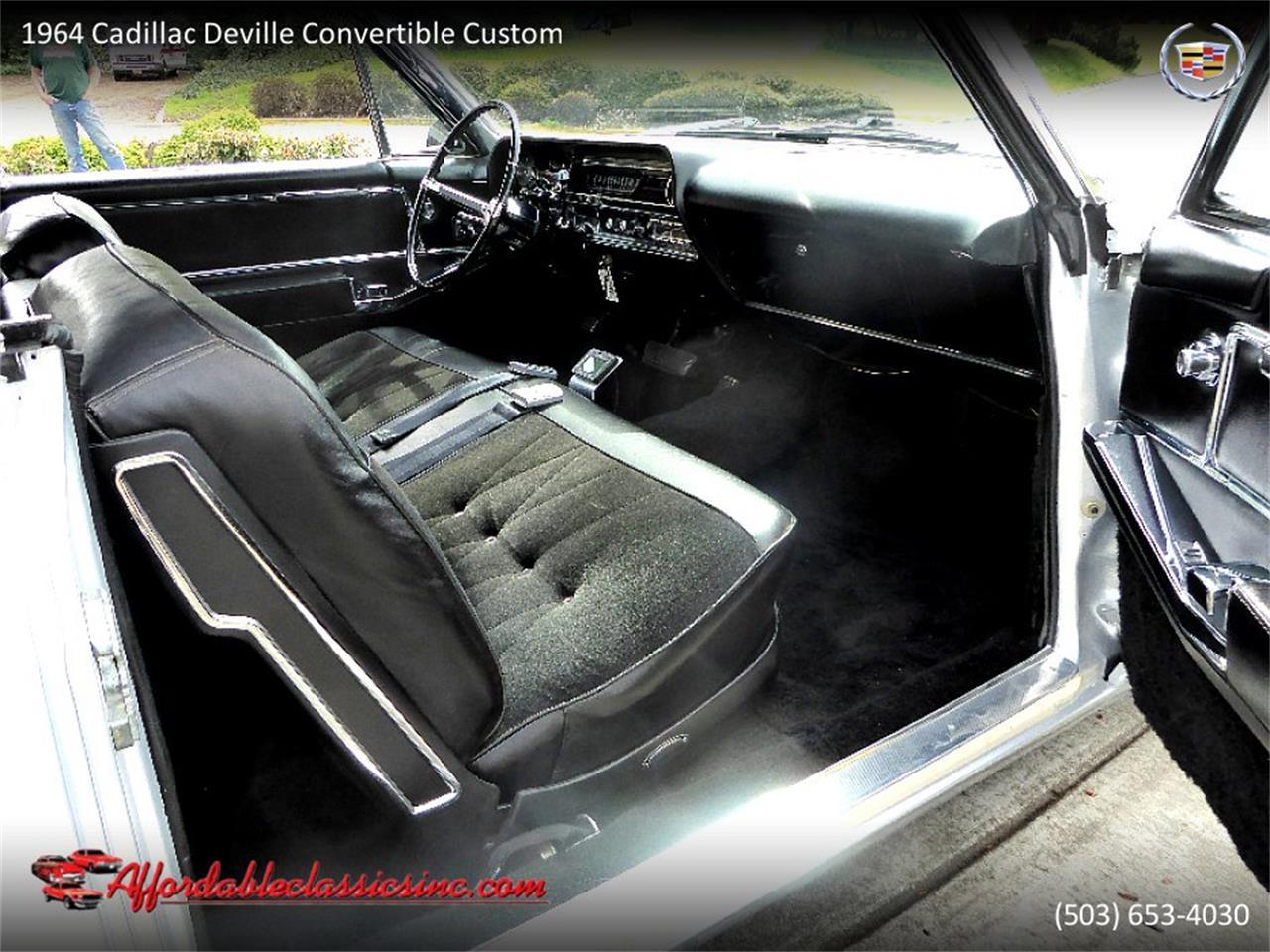 Large Picture of 1964 Cadillac DeVille located in Gladstone Oregon - QJO1