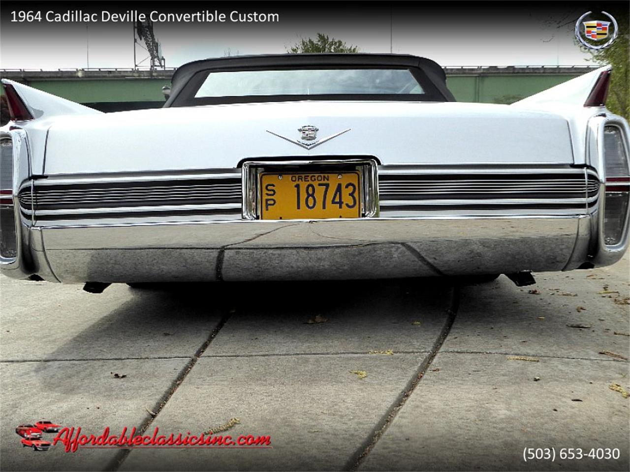 Large Picture of 1964 DeVille located in Gladstone Oregon - $54,500.00 Offered by Affordable Classics Inc - QJO1