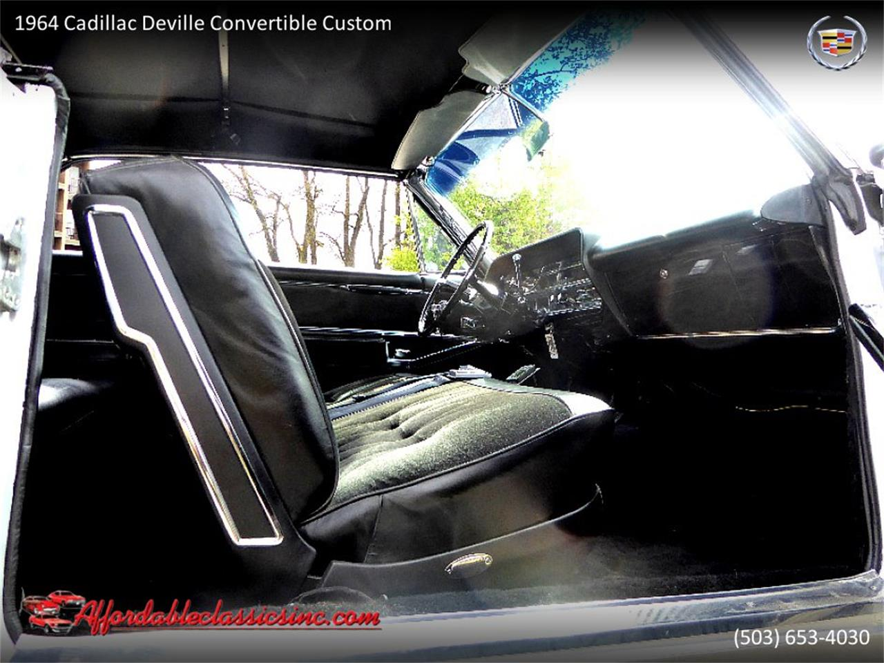 Large Picture of Classic '64 Cadillac DeVille located in Oregon Offered by Affordable Classics Inc - QJO1