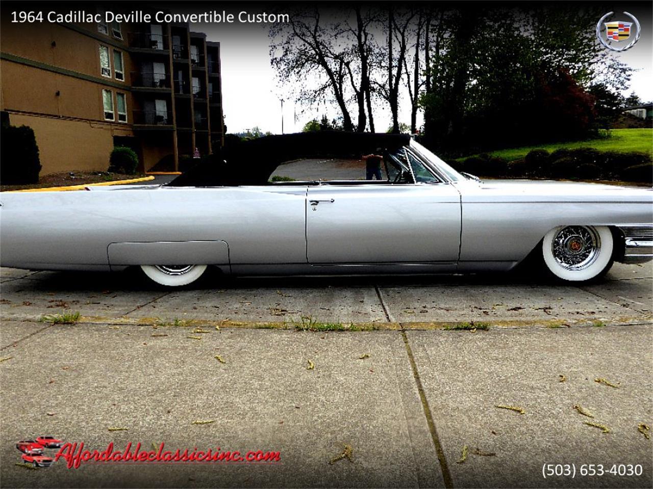 Large Picture of Classic '64 Cadillac DeVille located in Gladstone Oregon - QJO1
