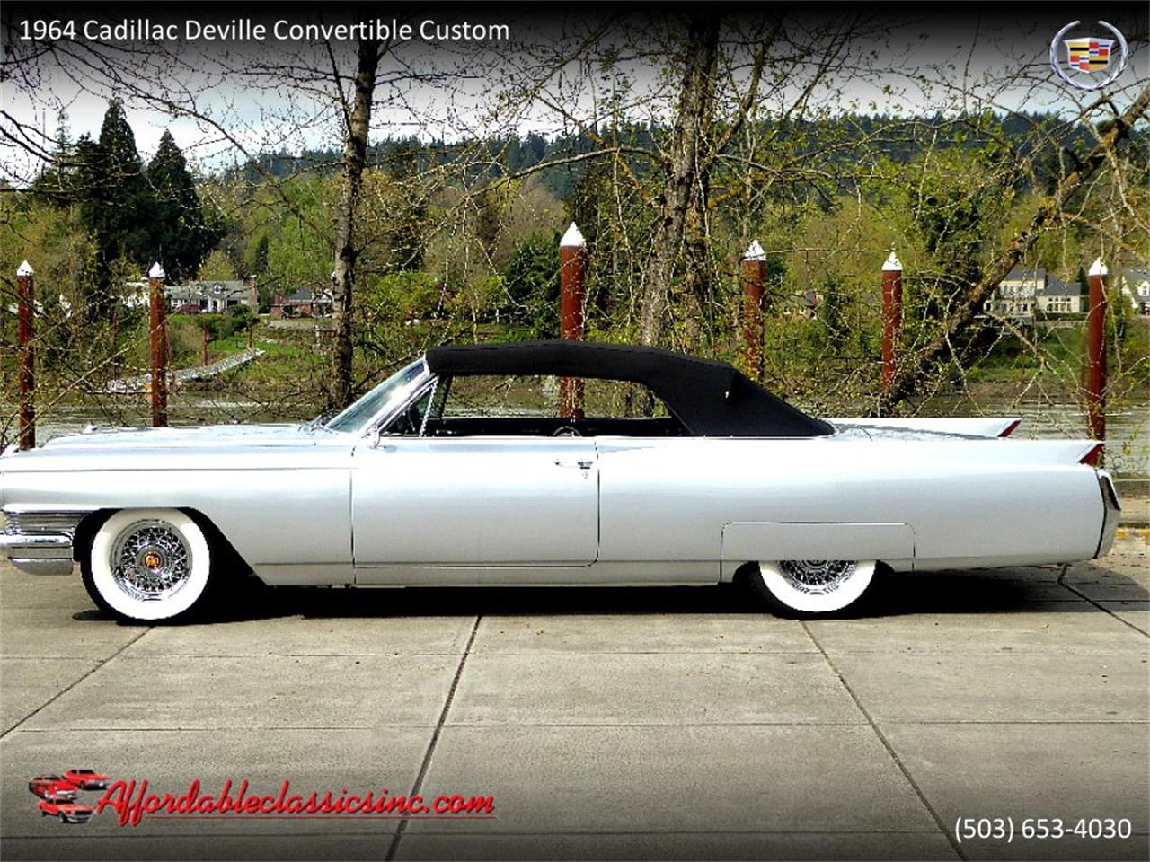 Large Picture of Classic 1964 Cadillac DeVille located in Gladstone Oregon - $54,500.00 - QJO1