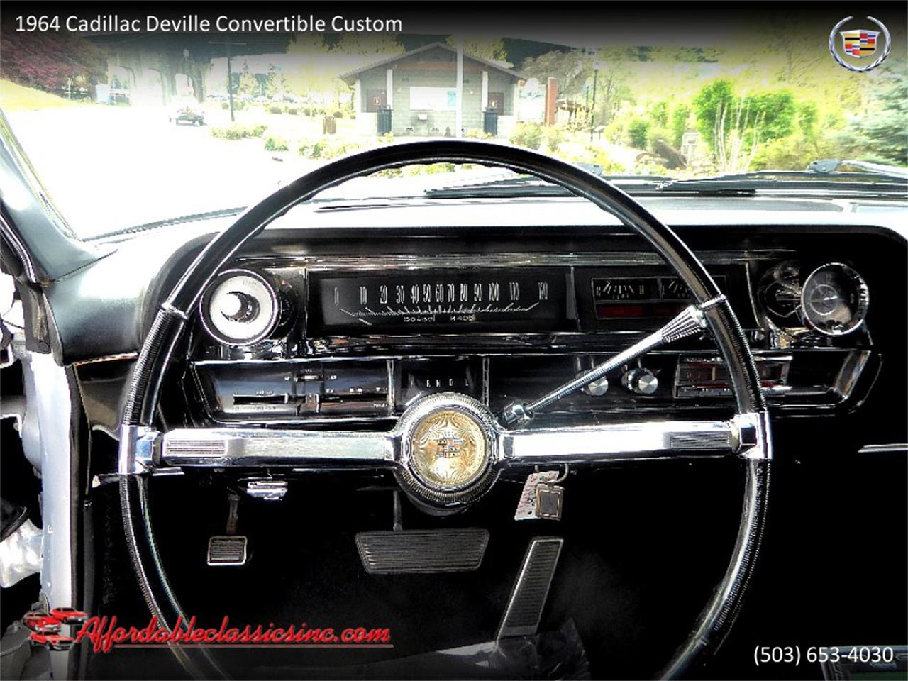 Large Picture of 1964 Cadillac DeVille located in Oregon Offered by Affordable Classics Inc - QJO1