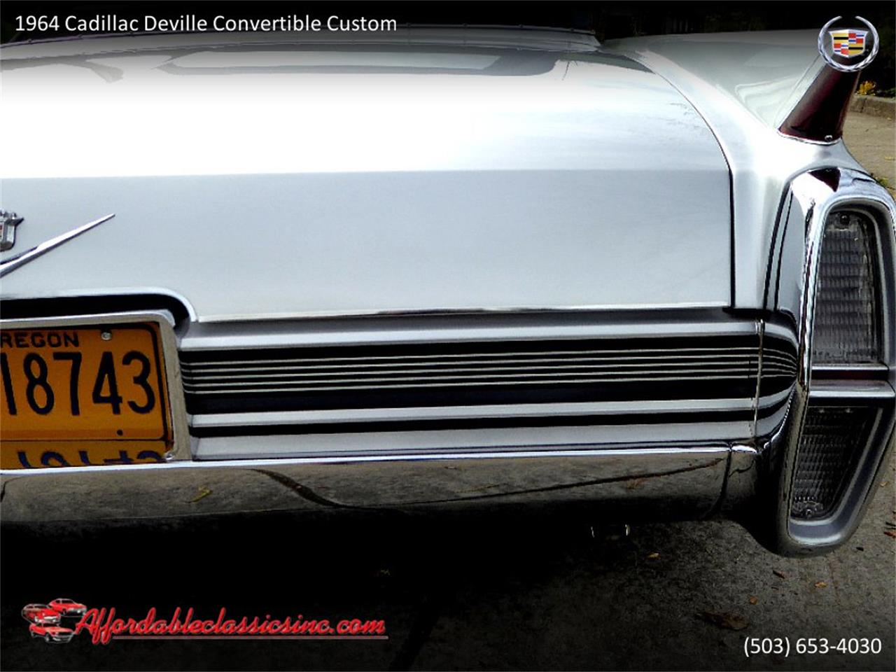 Large Picture of Classic '64 Cadillac DeVille - $54,500.00 - QJO1