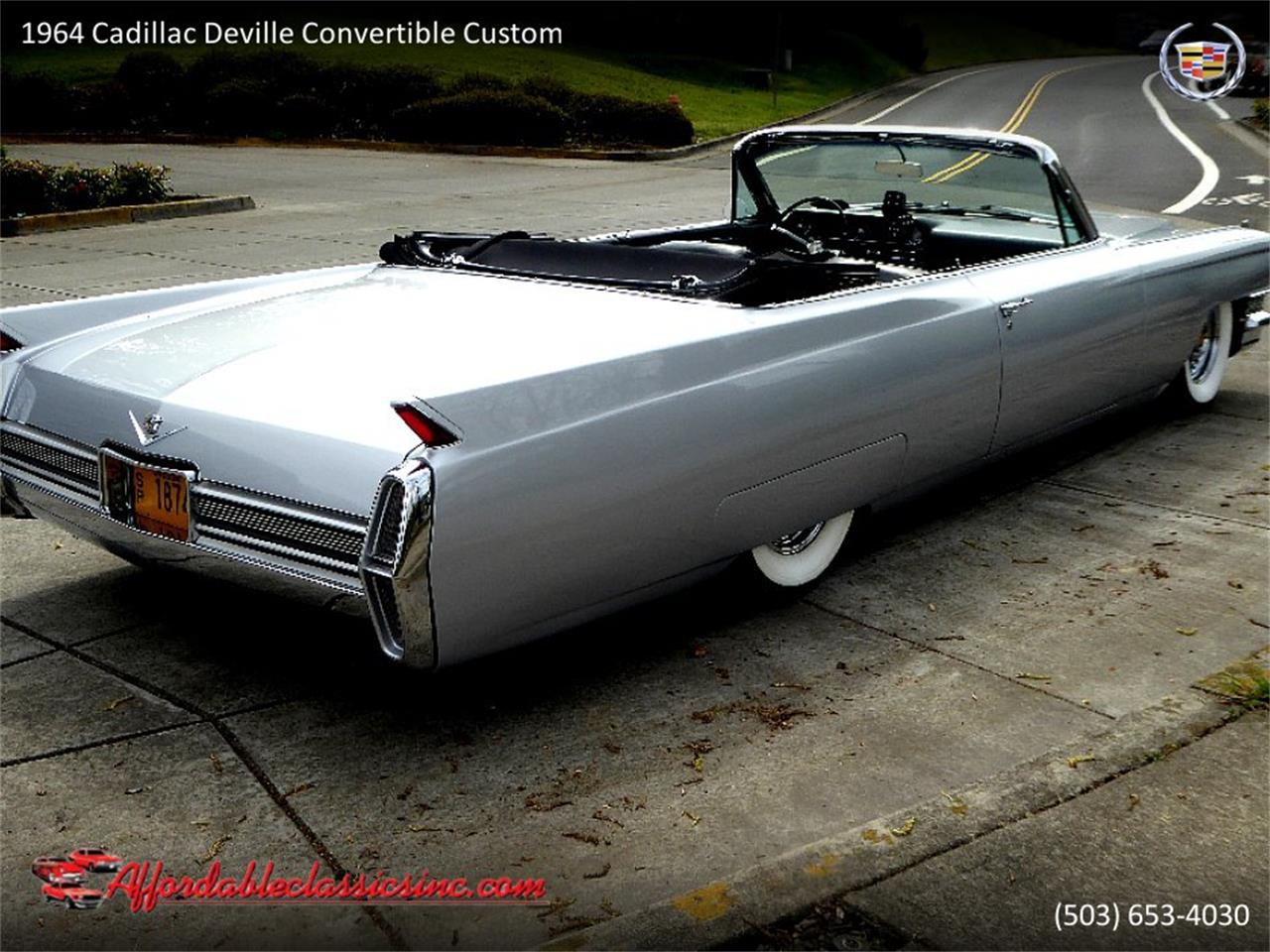 Large Picture of Classic '64 Cadillac DeVille located in Gladstone Oregon - $54,500.00 Offered by Affordable Classics Inc - QJO1