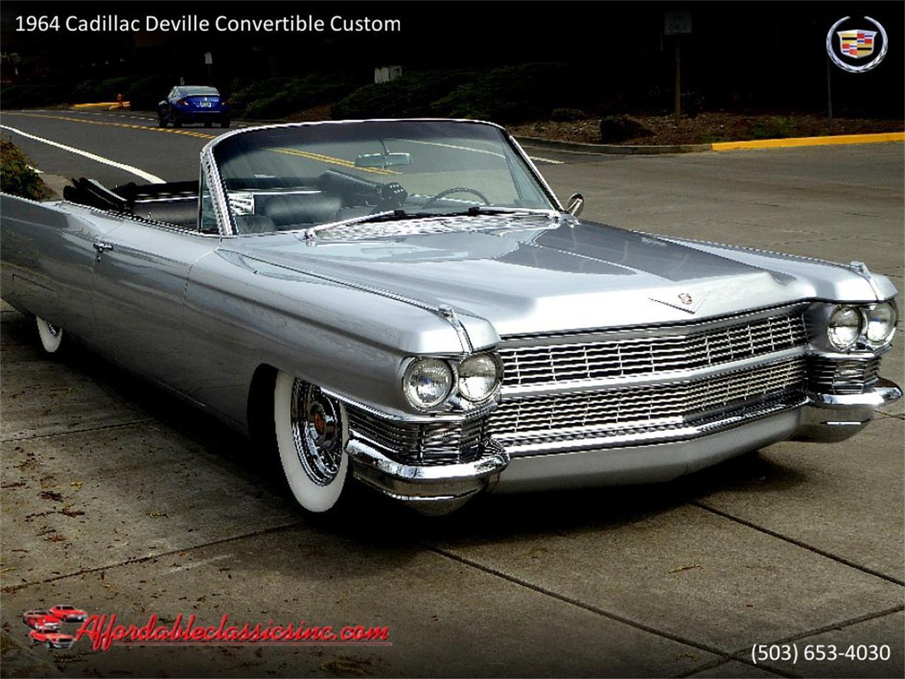 Large Picture of Classic '64 Cadillac DeVille located in Oregon - QJO1