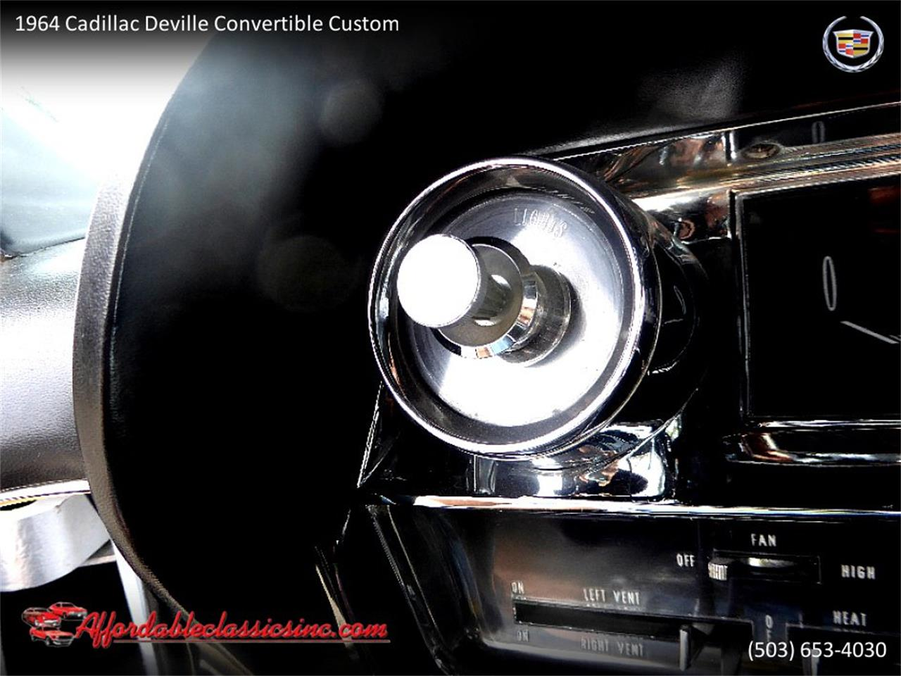 Large Picture of 1964 Cadillac DeVille - $54,500.00 Offered by Affordable Classics Inc - QJO1
