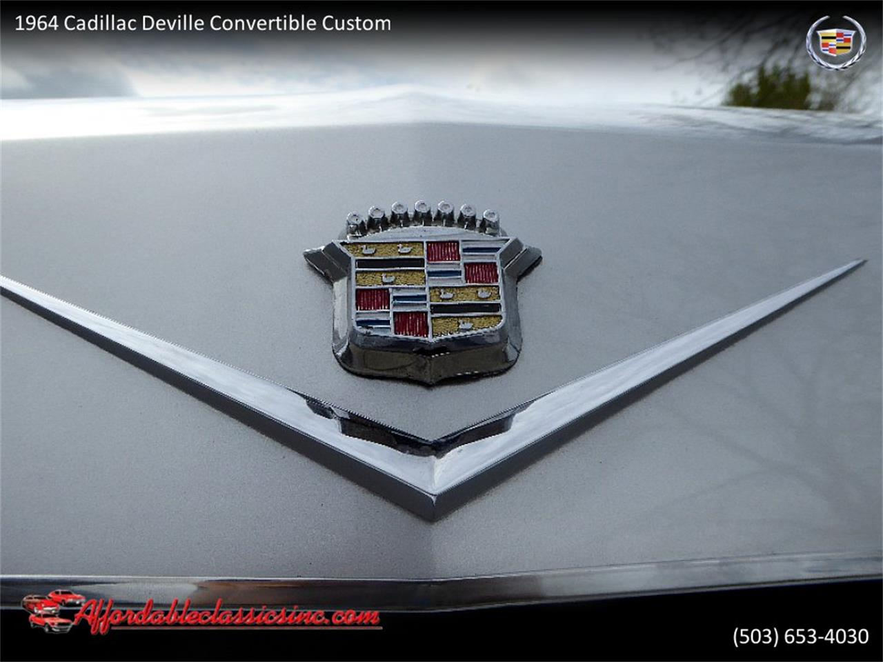Large Picture of '64 Cadillac DeVille located in Gladstone Oregon - $54,500.00 Offered by Affordable Classics Inc - QJO1