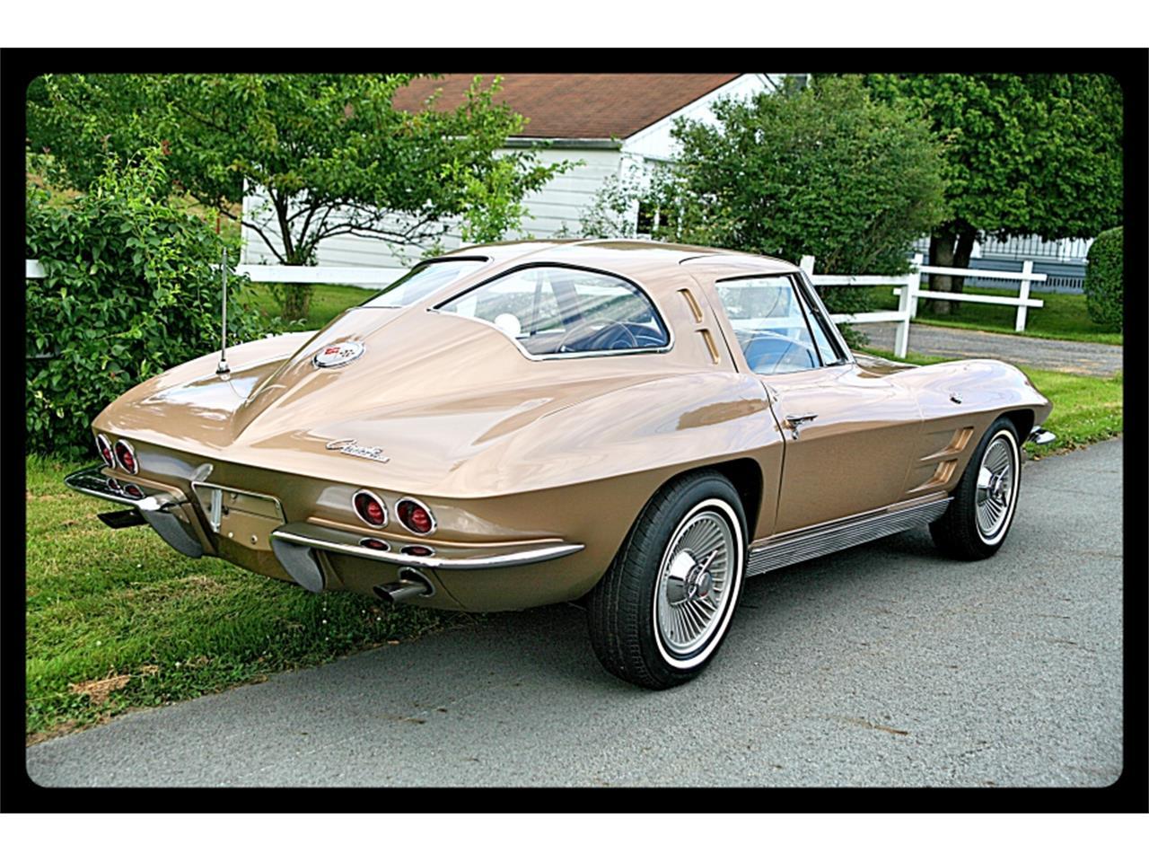 Large Picture of Classic '63 Corvette Auction Vehicle - QJQ3