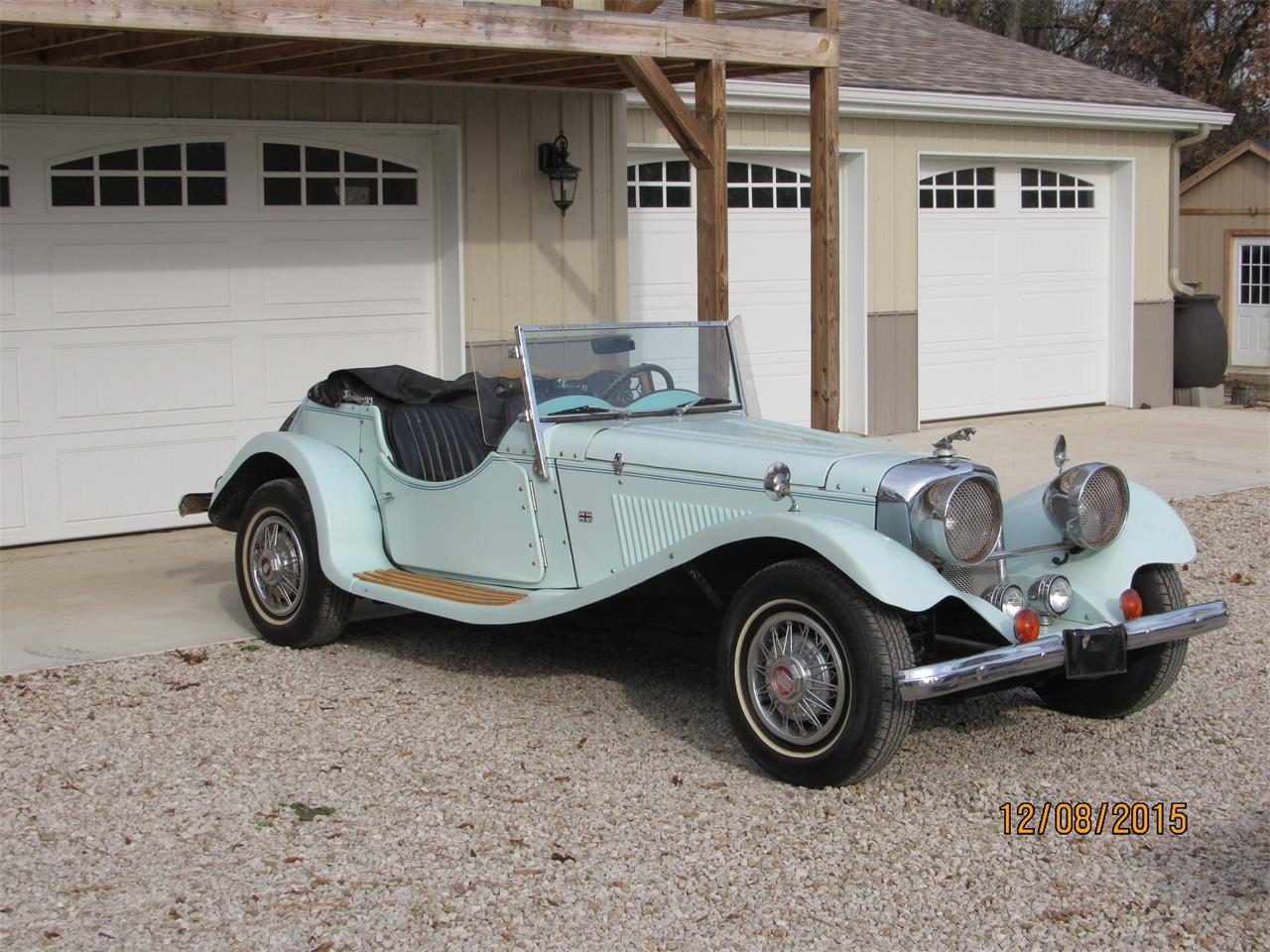 Large Picture of 1937 Jaguar SS100 located in Robinson Illinois - $7,500.00 - QJQL