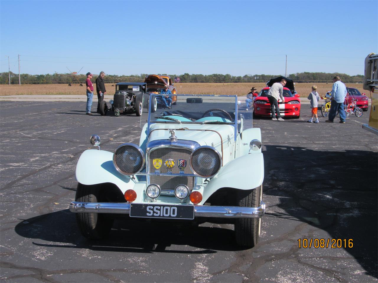 Large Picture of Classic '37 Jaguar SS100 located in Robinson Illinois - QJQL