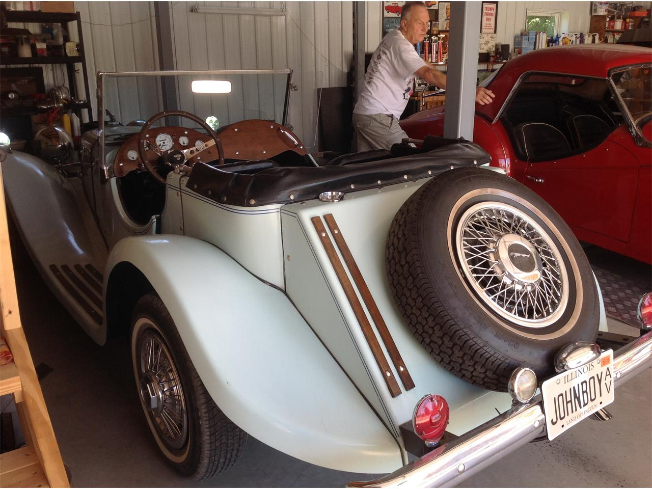 Large Picture of Classic '37 SS100 located in Robinson Illinois - $7,500.00 - QJQL