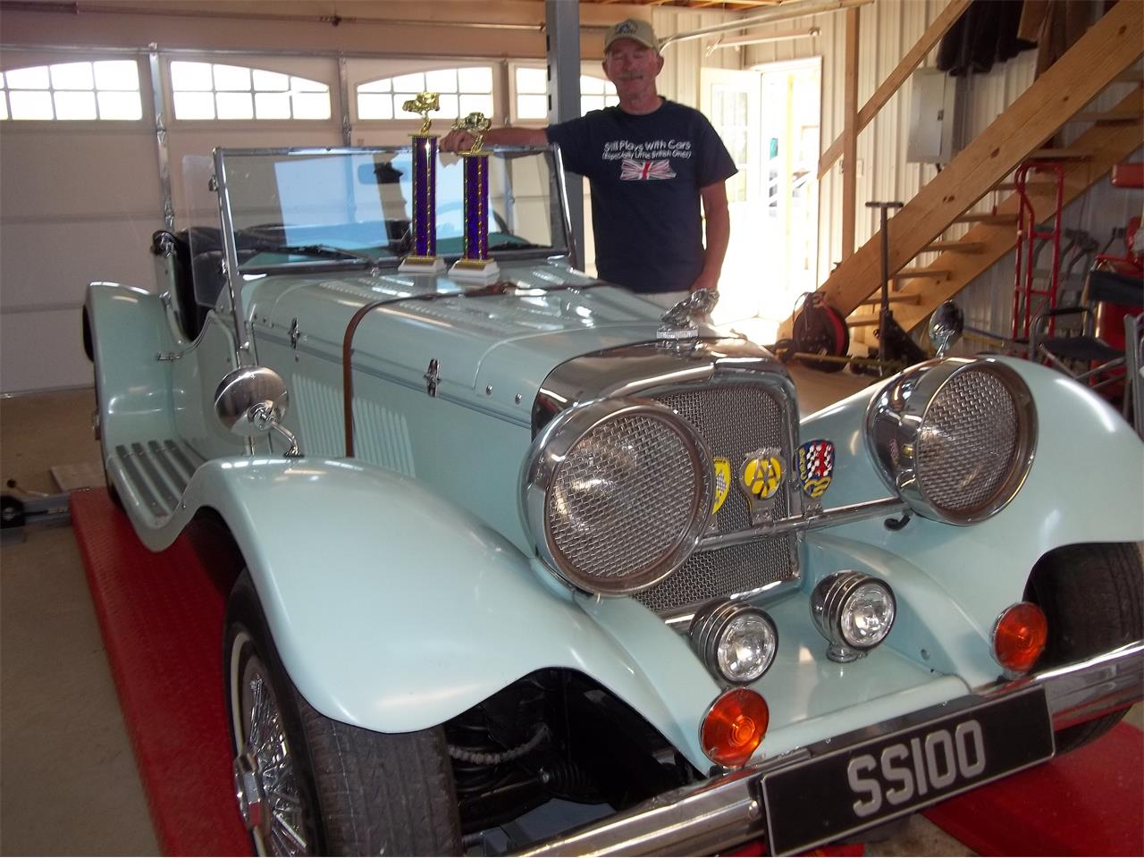 Large Picture of '37 Jaguar SS100 - $7,500.00 Offered by a Private Seller - QJQL
