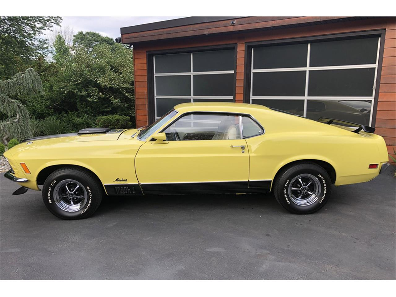 Large Picture of '70 Mustang Mach 1 located in Connecticut Auction Vehicle - QDQS